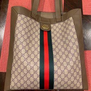 Gucci ophidia GG supreme soft tote